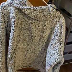 Victoria secret Pink XL Sherpa pullover